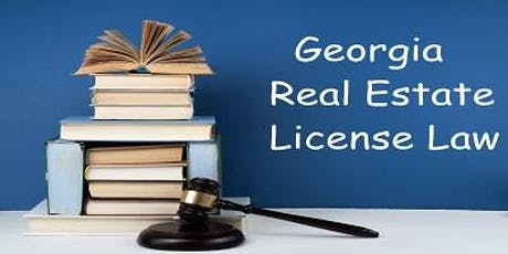 Georgia Real Estate License Law - Best Practices - Renew your License in 2019! Peachtree Corners tickets
