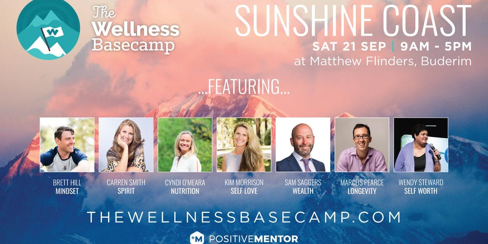 The Wellness Basecamp Sunshine Coast Tickets, Tue 17/09/2019 at 7:00