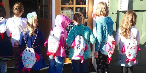 Sewing Classes for Children AM £15 - Saturday 26th October 2019  9.30am – 12.30 pm
