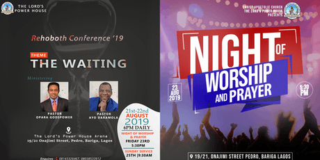 Rehoboth conference tickets