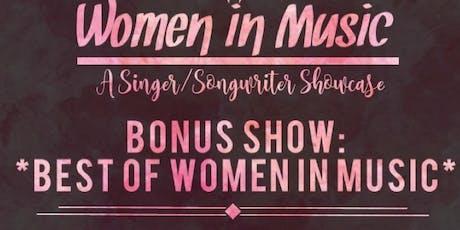 Women in Music TO - Best of WOMEN IN MUSIC! tickets