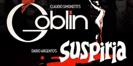 "Claudio Simonetti's GOBLIN performing ""Suspiria"" tickets"