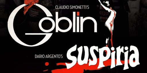 """Claudio Simonetti's GOBLIN performing """"Suspiria"""""""