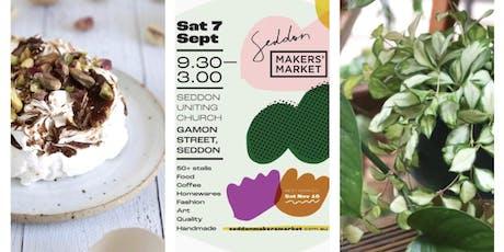 Seddon Makers Market: September 2019 tickets