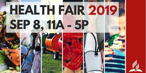 Health Fair/Feria de Salud 2019