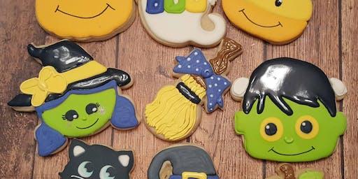 Kids Halloween Cookie Class