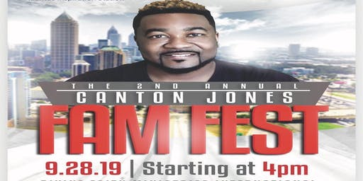 2019 CaJo Fam Fest (Canton Jones Day Family Reunion)