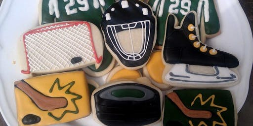 Hockey Themed Cookie Class