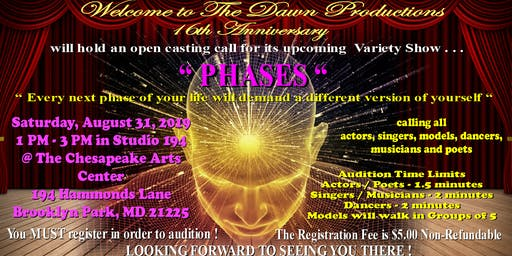 "Open Casting Call for ""PHASES"""
