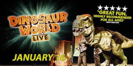 Dinosaur World Live! tickets