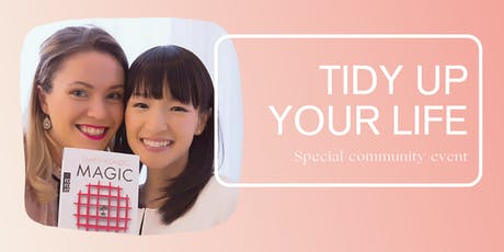 Tidy up your life with the KonMari™ method! Tickets