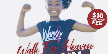 Copy of Walk for Heaven: 3K Run and Walk for Sickle Cell Awareness tickets