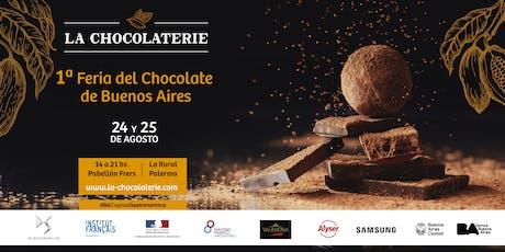 LA CHOCOLATERIE - 1era Feria del Chocolate de Buenos Aires - 24 y 25 de Agosto entradas