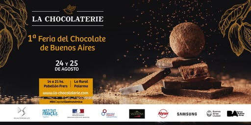 LA CHOCOLATERIE - 1era Feria del Chocolate de Buenos Aires - 24 y 25 de Agosto