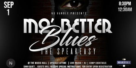 Mo' Better Blues | The Speakeasy tickets