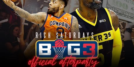 Big 3 After Party Hosted by Stephen Jackson & Andre Emmitt at Mister Rich  tickets
