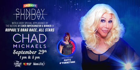 Sunday Funday with CHAD MICHAELS from RuPaul's Drag Race tickets