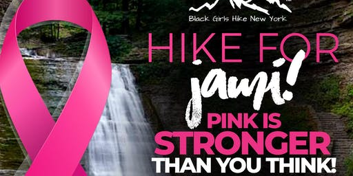 HIKE FOR JAMI! PINK IS STRONGER THAN YOU THINK!