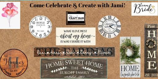 *PRIVATE BACHELORETTE* - INVITE ONLY Come Celebrate & Create with Jami!