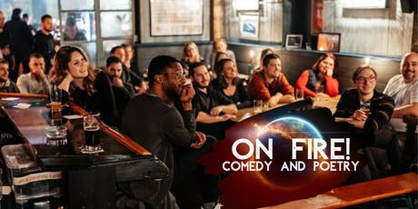 On Fire! Comedy and Poetry! tickets
