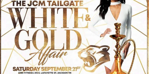 The Official JCM Tailgate - White & Gold Affair