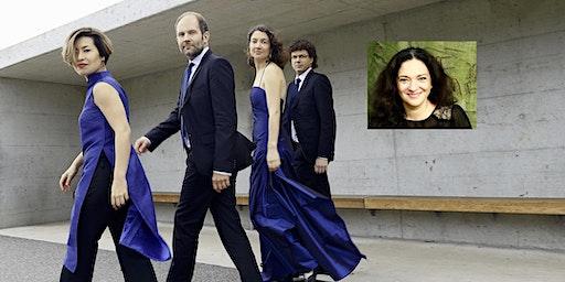 Meistersolisten im Isartal 5/2020: Amaryllis Quartett / Maria Riccarda Wesseling