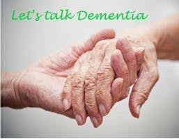 Dementia Awareness: Please only book if you are committed to attend.