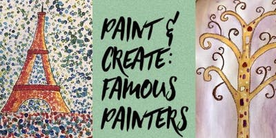 Paint and Create like Famous Painters