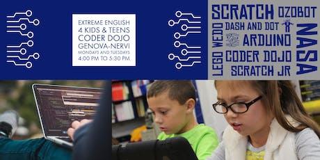 Extreme English 4 Kids & Teens Coder Dojo Inauguration tickets