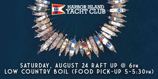 Harbor Island Raft Up + Low Country Boil