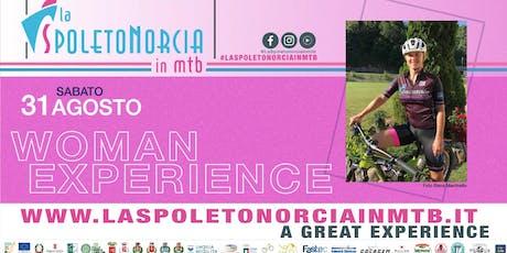 La Woman Experience a La Spoleto Norcia in MTB biglietti