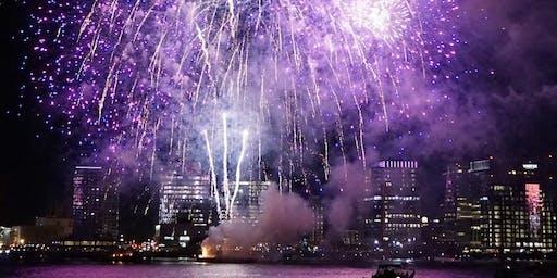 Celebrate the Boston Harbor Fireworks from Historic Nantucket Lightship