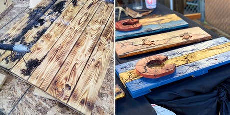 Fractal Wood Burn a Colorado Flag at Salvage Design Center tickets
