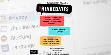 #REVDEBATES: Is data privacy a myth? tickets