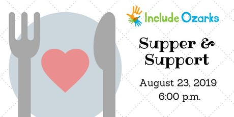 Supper and Support: August 2019 tickets