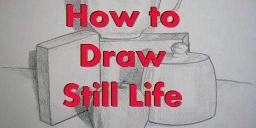 Still Life Sketch Class