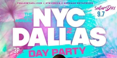 Texas Takeover 4 Day Party Rooftop  NYC to Dallas Edition tickets