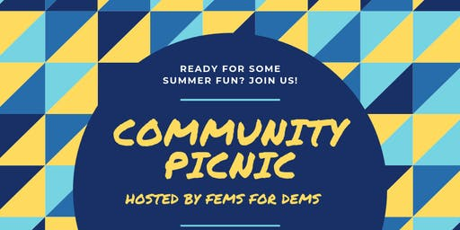 Fems for Dems Community Picnic