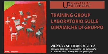 T-group - Laboratorio sulle dinamiche di gruppo biglietti