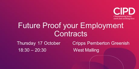 Future Proof your Employment Contracts tickets