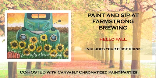 Hello Fall Paint & Sip @ Farmstrong Brewing