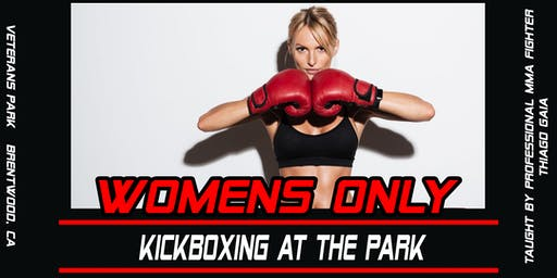Women's Kickboxing at the Park