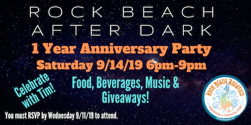 RBA After Dark 1 Year Anniversary Party