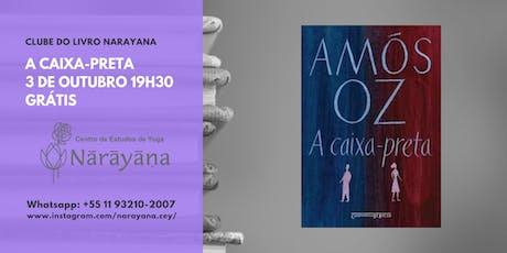 Clube do Livro Narayana - A caixa-preta ingressos