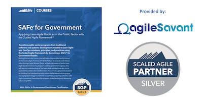 SAFe 4.6 for Government w/ SGP Certification