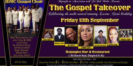 The Gospel Takeover tickets
