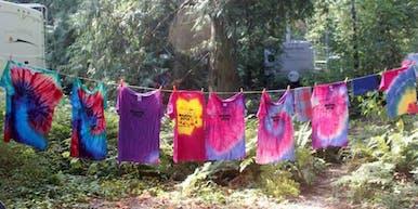 Tie Dye T-Shirt Workshop