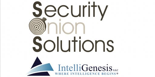 Meet & Greet with IntelliGenesis and Security Onion Solutions