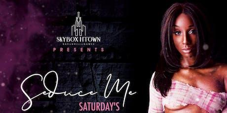 Aquila Aveion Host's : Seduce Me Saturday's tickets