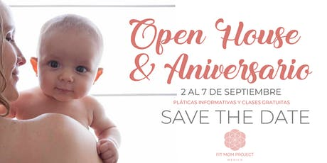 Open House y Aniversario boletos